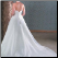 Halter Neckline Floor Length Embroidered Wedding Dress showing back of gown