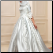 Lace-up Satin Off the Shoulder Ballgown for Muslim Bride - front of gown