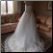 Mori Lee White Satin and Lace Ball Gown for rent size 12