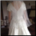 Short Sleeve Morilee Wedding Gown with Train