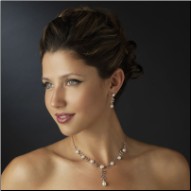 Lady Alice Pearl Necklace and Earrings Set