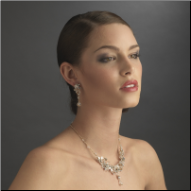 Lady Helena Swarovski Crystal Necklace and Earrings Set