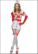 Naughty But Nice Night Nurse Costume