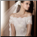 Princess Lace Wedding Gown - close-up of bodice
