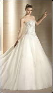 Princess Tulle Wedding Gown
