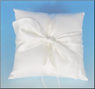 Bridal Love Knot Ring Pillow