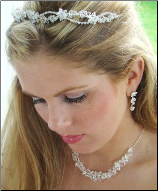 Duchess of Connaught Swarovski Crystal Tiara Set