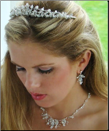 Duchess of Cumberland Pearl and Crystal Tiara Set