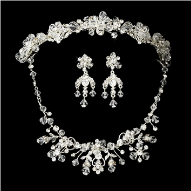 Duchess of Gloucester Swarovski Crystal Tiara Set