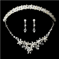Countess of Burford Swarovski Crystal Tiara Set