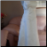 Sleeveless Embroidered Bridal Originals Gown showing front of gown