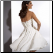 Strapless Chiffon Convertible Bridal Gown - back of gown