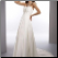 Strapless Chiffon Convertible Bridal Gown - with removable train