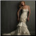 Strapless Taffeta Fit and Flare Convertible Wedding Dress - front of gown