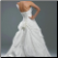 Strapless Taffeta with Lace Wedding Gown showing back and train of this lovely gown