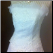 Strapless White Wedding Gown with Sequins and Ruffles - close up of bodice