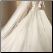 Sweetheart Neckline Organza Wedding Dress - back view showing train and floral details