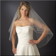 Hereford Fingertip Length Wedding Veil