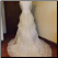 Gorgeous Vintage Organza Bridal Gown with matching Veil for rent