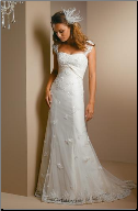 Satin and Tulle Wedding Dress
