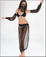 Exotic Egyptian Dancer Costume