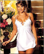 Romantic White Honeymoon Babydoll