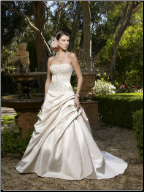 Casablanca A-Line Wedding Dress