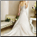 Elegant Satin Strapless Princess Wedding Gown - view showing lace up back and sweep train