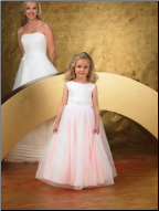 Floor Length Ballgown Flower Girl Dress