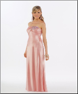 Elegant Satin Long Bridesmaid Dress