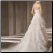 Organza Ballgown Wedding Dress - back view