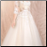 Tulle and Satin Tea Length Bridal Dress