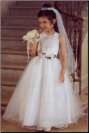 Pretty Organza Flower Girl Dress