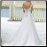 Princess Sweetheart Neckline Tulle Wedding Gown - showing delicate back and train