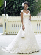 Princess Sweetheart Neckline Tulle