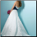 Princess Style Satin Wedding Dress - beautiful back view of bridal gown, elegant train