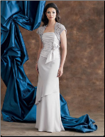 Chiffon and Satin Mother of the Bride Outfit