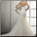 Mermaid Strapless Lace Wedding Gown - showing back of gown