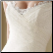 A Line Cap-Sleeve Tulle Wedding Gowns - close-up