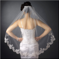 Arundel Fingertip Length Wedding Veil