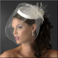 Charming Cage Veil Headpiece
