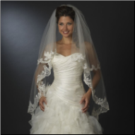 Chelmsford Waltz Length Double Layer Bridal Veil