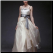 Chic Satin and Organza Wedding Dress - classy and elegant