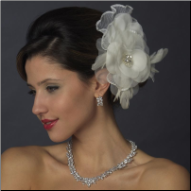 Beautiful Bridal Flower Hair Clip