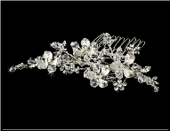 Versatile Crystal Couture Bridal Comb