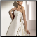 Chic Strapless Wedding Gown with Detachable Train - close-up of bodice