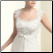 Elegant Chiffon and Lace Bridal Gown, close-up of bodice