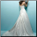 Embroidered Princess Satin Wedding Dress showing back of gown with train and lace-up back closure