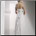 Empire Line Floor Length Chiffon - back of Gown