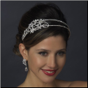 Estella Crystal Side Accented Bridal Headband